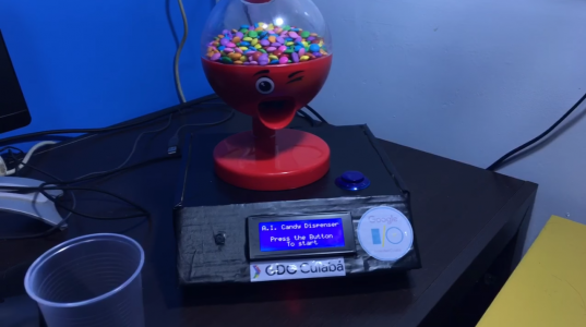 Android Things AI Candy Dispenser Header Image htxt.africa