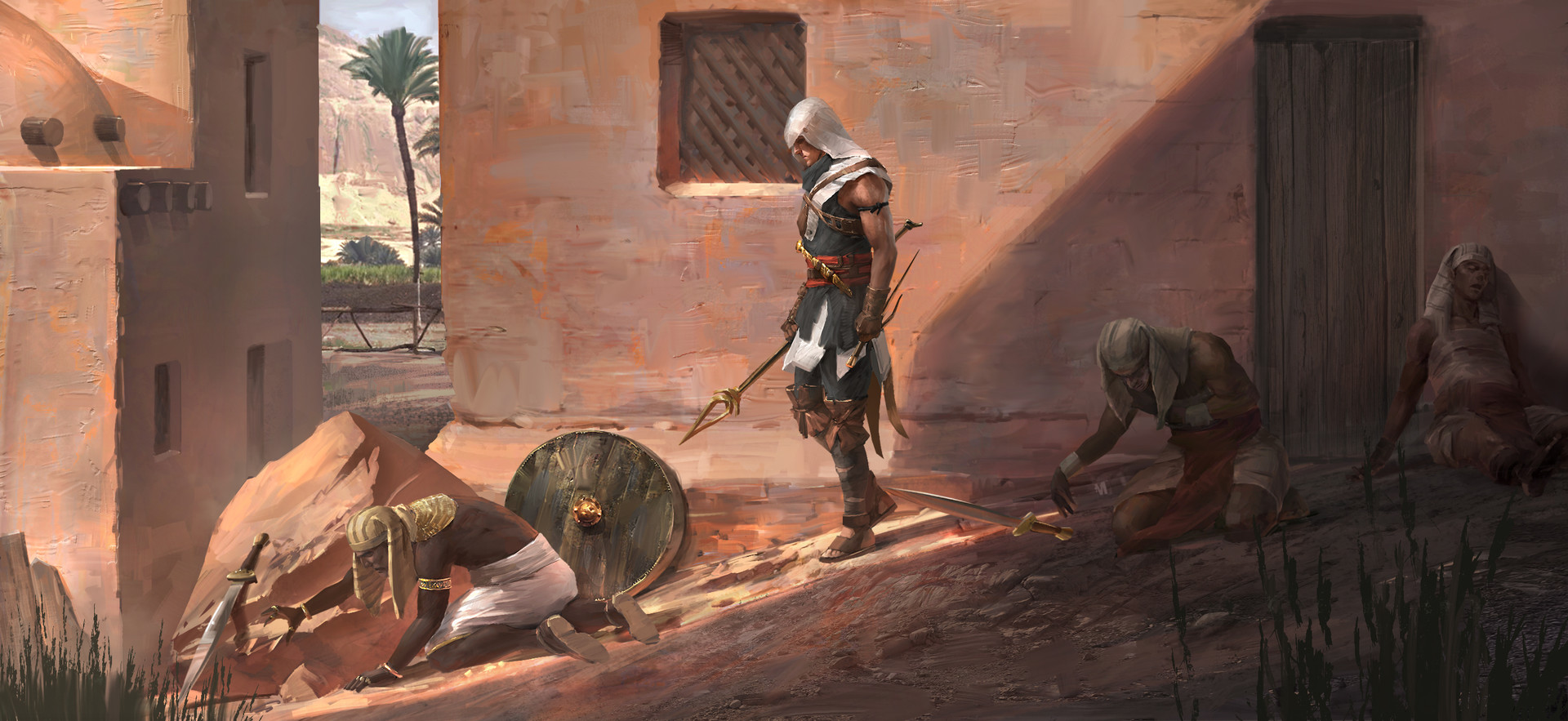 Assassin's Creed Origins may have been outed