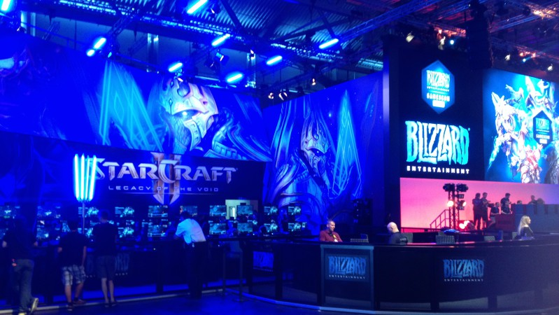 Blizzard as Gamescom