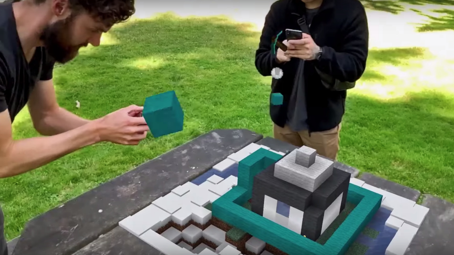 A Minecraft Earth beta is coming to iOS later this month - htxt.africa