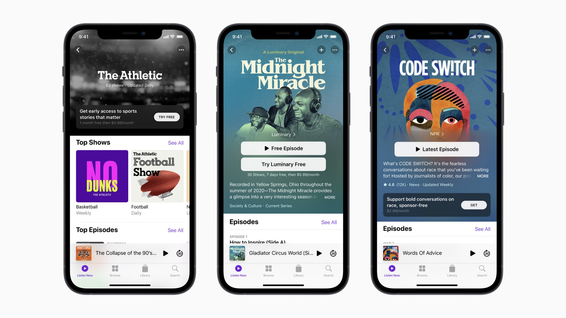 Delayed last month, Apple paid Podcasts expected 15th June - htxt.africa