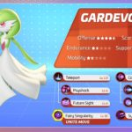 Gardevoir is the first post-launch addition to Pokémon Unite